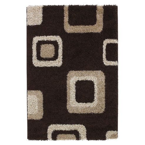 Oriental Carpets & Rugs Majesty Brown Rug - Runner 120cm L x 60cm W