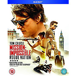 Mission Impossible Rogue Nation Blu-ray