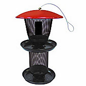 No/No Multi-Seed Wild Bird Feeder with Tray