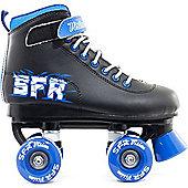 SFR Vision II Blue Kids Quad Roller Skates - Black