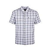 Holiday Shirt Short Sleeved Cotton - White
