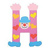 Tatiri TA408 Crazy Clown Wooden Letter H