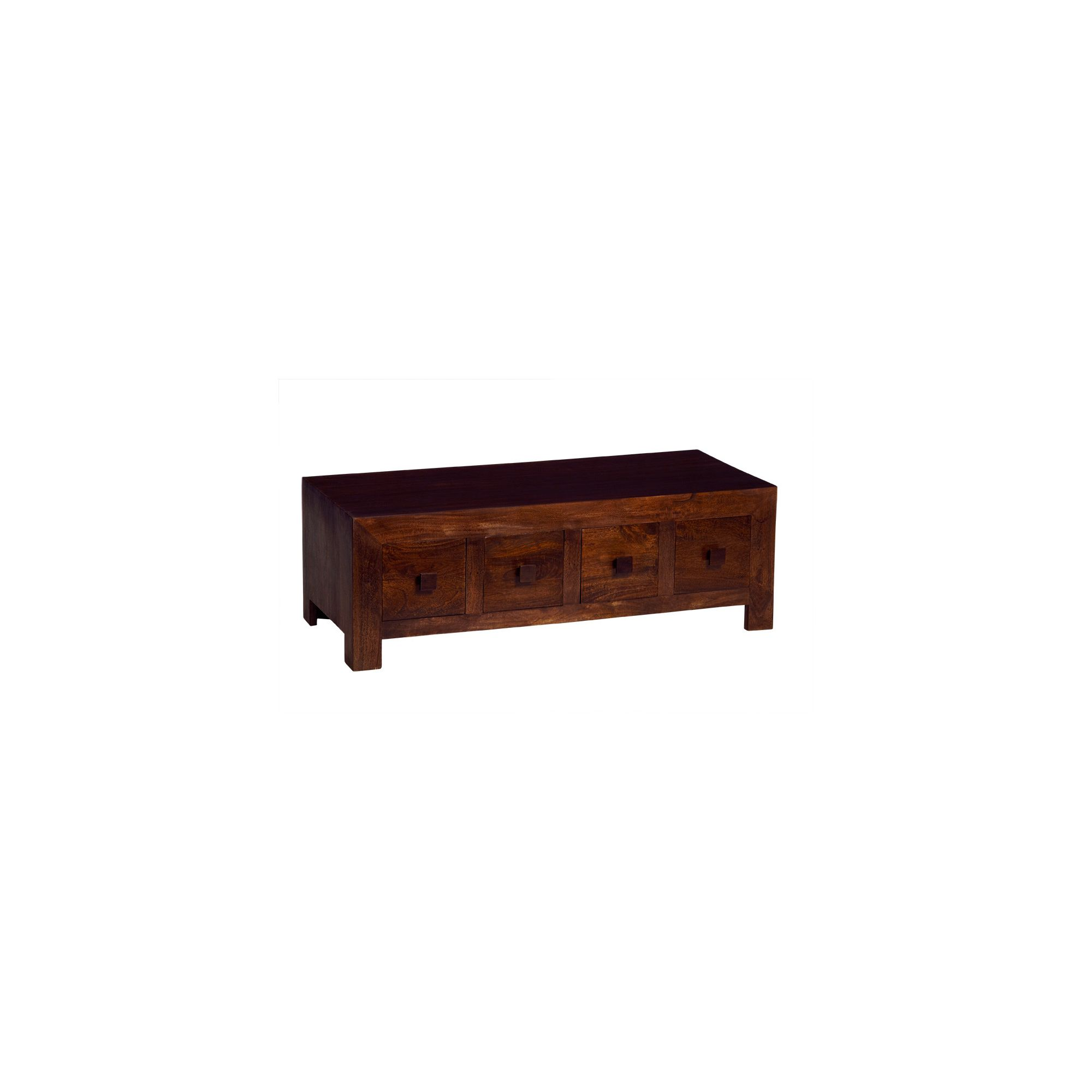 Indian Hub Mango Toko Eight Drawer Coffee Table at Tesco Direct