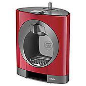 NESCAFE Dolce Gusto, Oblo, Manual Coffee Machine by Krups, Red