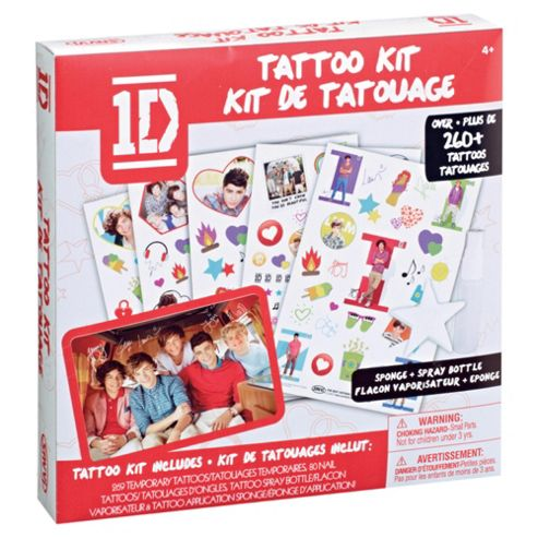 Body Tagz One Direction Body Transfer Kit