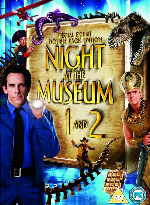 Night At The Museum / Night At The Museum 2 Double Pack