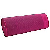 Kitsound Boombar Bluetooth Speaker, Pink