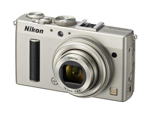 Nikon Coolpix A Camera Silver 16.2MP 3.0LCD FHD 28mm Wide Lens