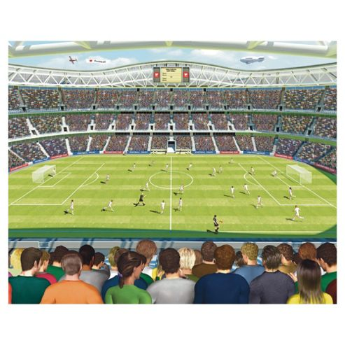 Football Crazy Wallpaper Mural 8ft x 10ft