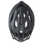 Via Velo Bike Helmet, Black 58-62cm