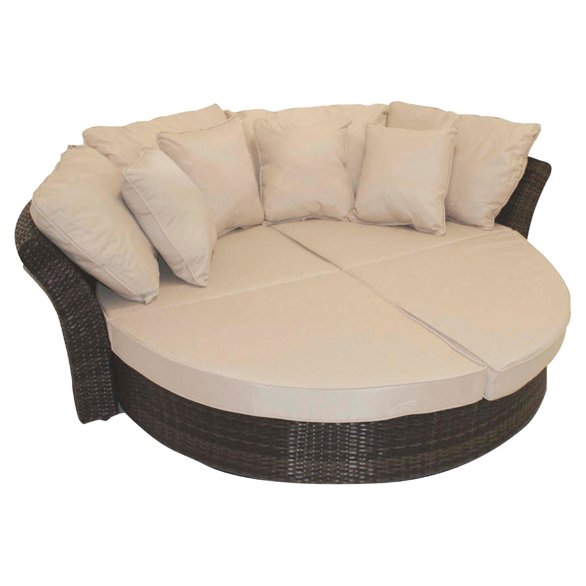 Mazerattan Bali Round Sofa Daybed at Tesco Direct