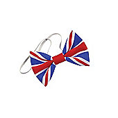 Bristol Novelty BA2890 - Union Jack Bow Tie. Cloth