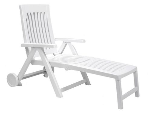 Nardi Achille Lounger in White