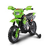 Kids Electric 6V Battery Power Ride On Motorcycle Green