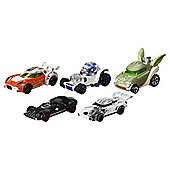 Hot Wheels Star Wars Character Cars 5 Pack