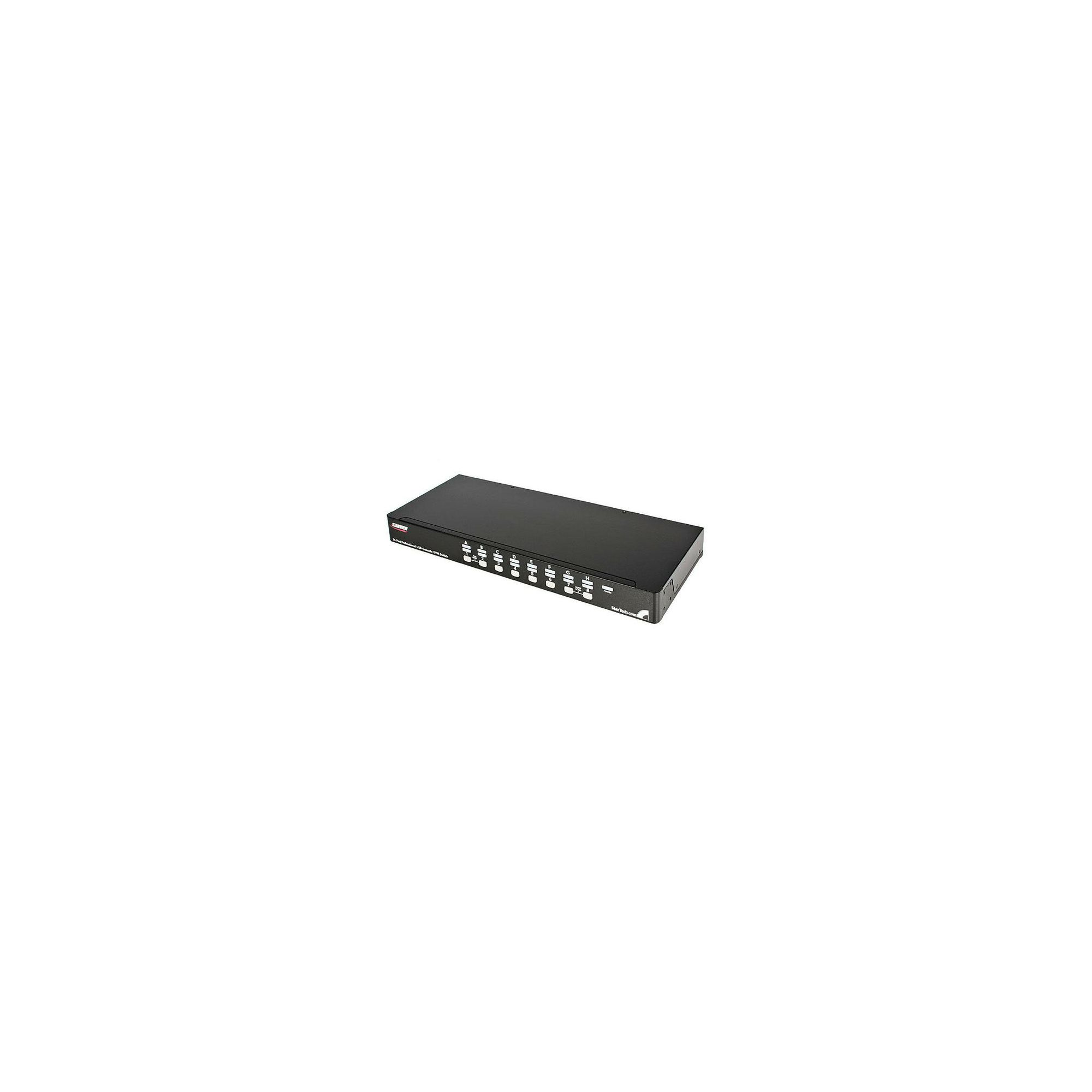 StarTech 16 Port 1U Rack Mount USB PS/2 KVM Switch with OSD at Tesco Direct