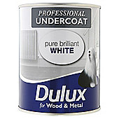 Dulux Professional Undercoat, Pure Brilliant White, 750ML