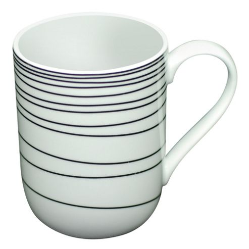 Tesco Atlanta Set of 4 Mugs, White