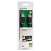 Belkin HDMI A/A Ulra-thin Cable 1M for laptops/Netbook