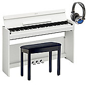 Yamaha Arius YDPS51 Digital Piano Package - White