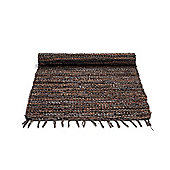 Rug Solid Chocolate Rug - 240cm x 170cm (7 ft 10.5 in x 5 ft 7 in)