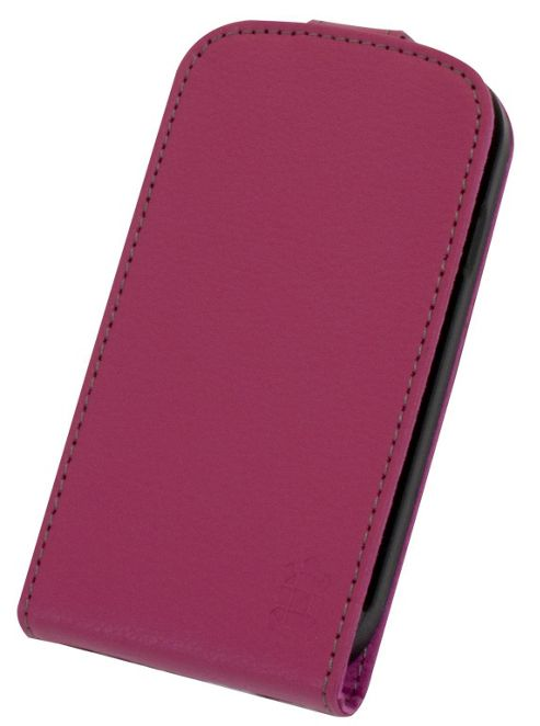 Tortoise™ Genuine Leather Flip Case Samsung Galaxy SIII Mini Pink