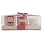 Wax Lyrical Spiced Berries Tealights, Sachet & Candle Giftset