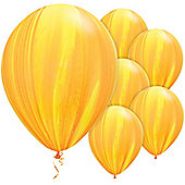11' Yellow Orange Rainbow SuperAgate (25pk)