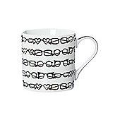 Mono Spectacles Print Mug