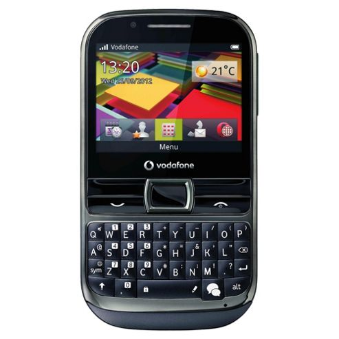 Vodafone Chat 655 Dark Grey