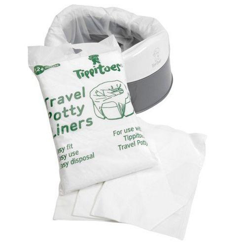 Tippitoes Travel Potty (White/Grey)