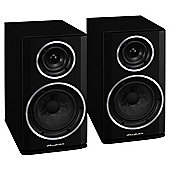 WHARFEDALE DIAMOND 122 BOOKSHELF SPEAKERS (BLACKWOOD)