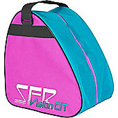 SFR Vision GT Skate Carry Bag - Pink/Blue