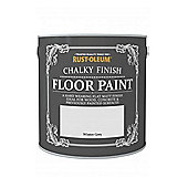 Rust-Oleum Chalk Chalky Floor Paint - Winter Grey - 2.5L