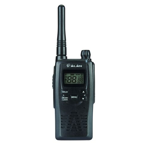Maplin Alan PMR446 HP450 License Free Walkie Talkie Two-Way Radio