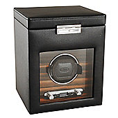Wolf Designs Watch Winder with Cover and Storage - Single