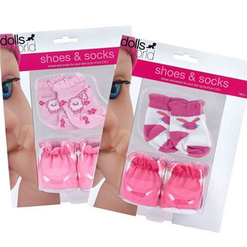 Dolls World Shoes And Socks
