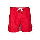 Aruba Mens Swim Shorts - Red