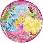 Disney Princess Plates - Paper Party Plates, Pack of 10
