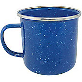 Yellowstone Enamel 360ml Camping Mug Blue