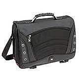 Wenger SwissGear Saturn Messenger Bag (Grey) fits up to 17 inch Laptops