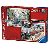 Steam 2x500 Jigsaw Puzzles
