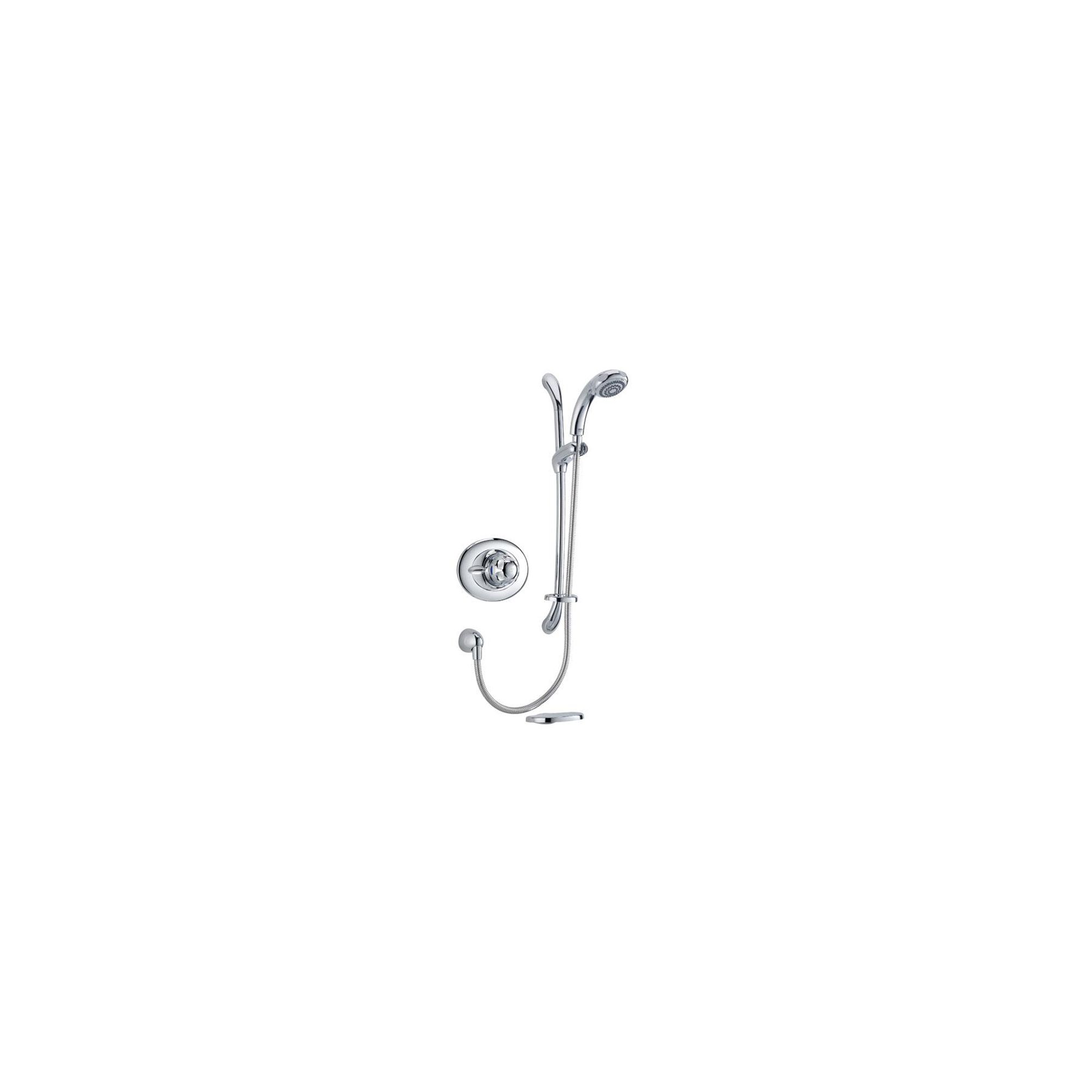 Mira Excel B-BIV Mixer Shower with Kit Chrome at Tesco Direct