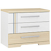 Gami Titoutan 3 Drawer Wide Chest