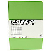 Leuchtturm 1917 Medium Notebook Squared Lime