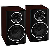 WHARFEDALE DIAMOND 122 BOOKSHELF SPEAKERS (ROSEWOOD QUILT)