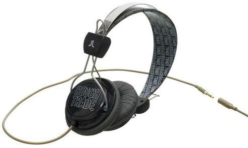 WESC Bongo Headphones Rough Trade Black