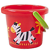 Gowi Toys Wild Animal Bucket (Zebra)