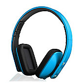 iT7x2 Bluetooth Wireless Headphones Blue Matte