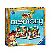 Memory Game - Jake And The Never Land Pirates Mini Memory Card Game - Ravensburger